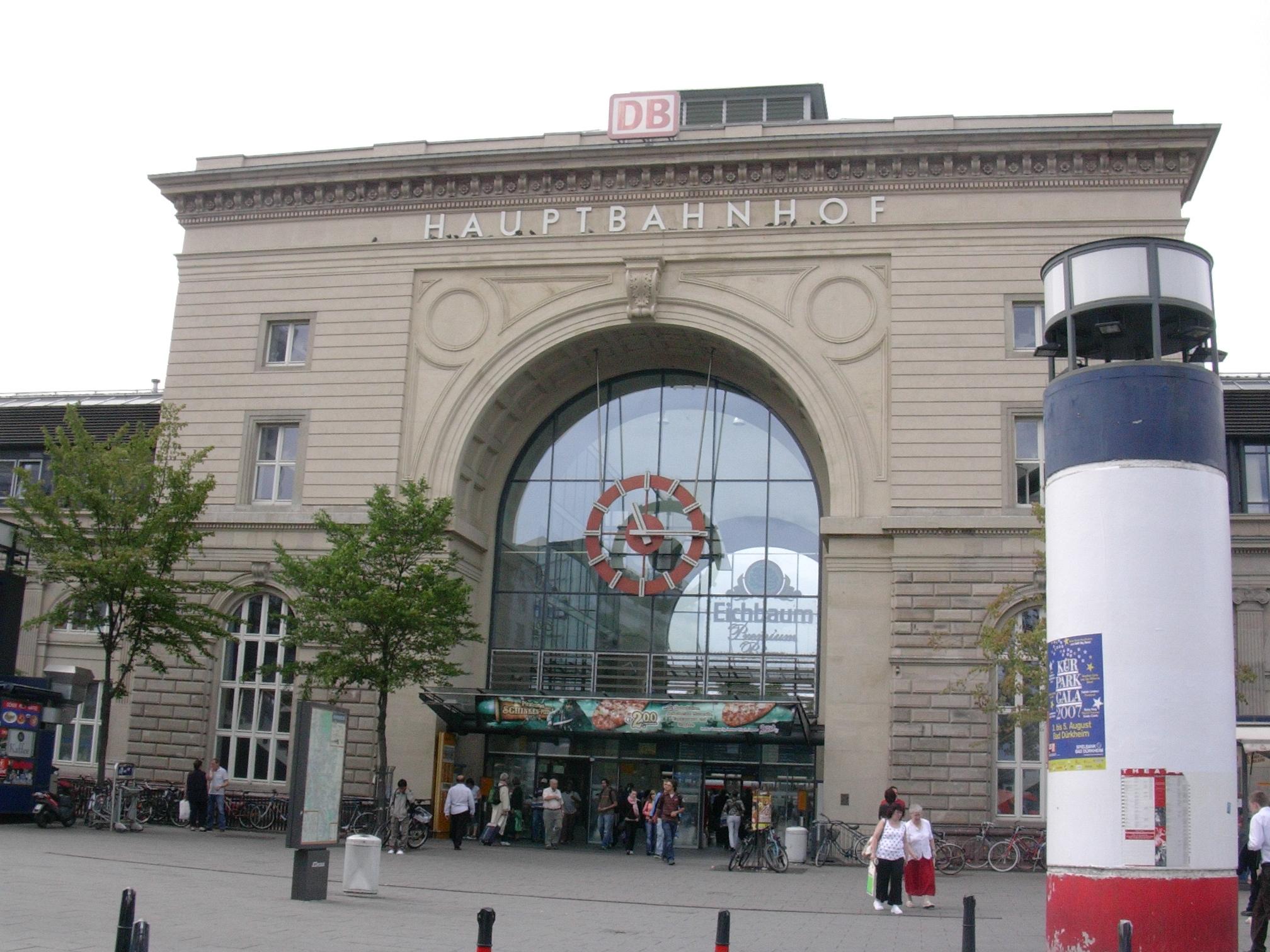 Schließfächer Mannheim Hbf
