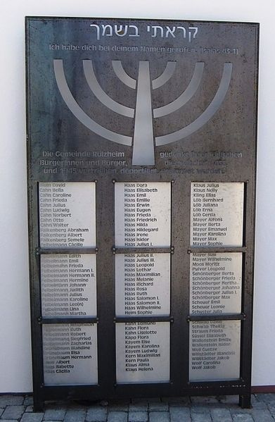 Datei:Gedenktafel Synagoge Rülzheim.JPG
